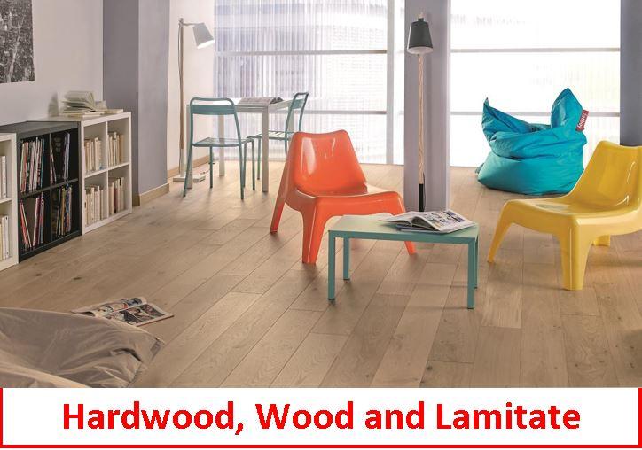 Hardwood, Wood and Lamitate