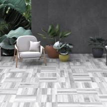 Iroco grey R11 A+B Wooden aspect